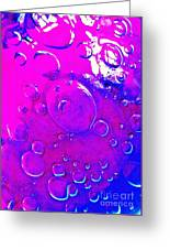 Glass Abstract 605 Greeting Card