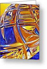 Glass Abstract 768 Greeting Card