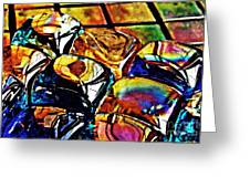 Glass Abstract Greeting Card