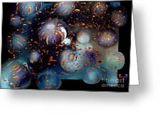 Glass Bubbles 1 Greeting Card