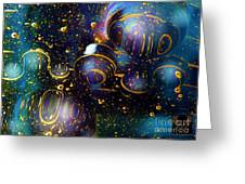Glass Bubbles 2 Greeting Card