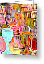 Glass Collection Greeting Card