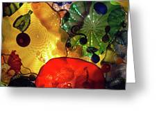 Glass Expressions Greeting Card