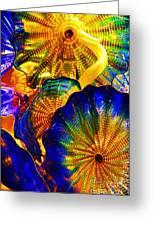 Glass Fantasy Greeting Card