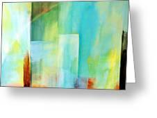 Glass Houses Vi Greeting Card