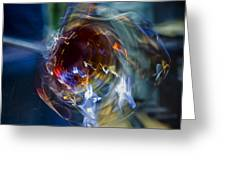 Glass In Motion Greeting Card by Marion McCristall