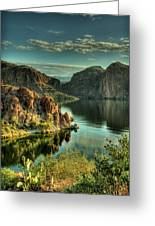 Glass Lake Greeting Card