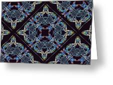 Glass Pattern Greeting Card