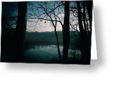 Glass River Greeting Card