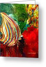 Glass Sea Greeting Card