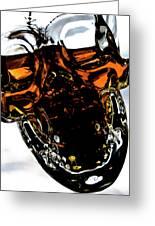 Glass Skull I Greeting Card