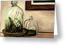 Glass Terrariums Greeting Card
