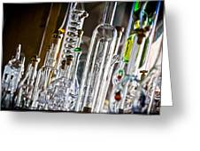 Glassblower's Shoppe Greeting Card