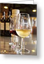 Glasses Of  Port Wine Greeting Card