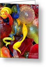 Glassworks Of The Milwaukee Art Museum Greeting Card