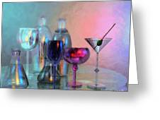 Glassy Still Life Greeting Card