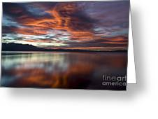 Glassy Tahoe Greeting Card