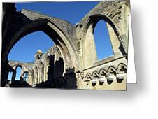 Glastonbur Abbey 2 Greeting Card
