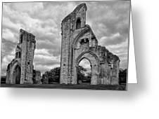 Glastonbury Abbey Greeting Card