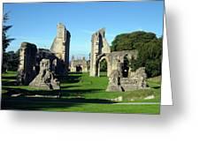 Glastonbury Abbey 1 Greeting Card