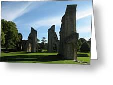 Glastonbury Abbey 3 Greeting Card