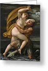 Glaucus Abducting Syme Greeting Card
