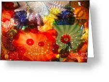 Glazed In Glass Greeting Card