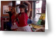 Glee Greeting Card