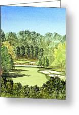 Glen Abbey Golf Course Canada 11th Hole Greeting Card