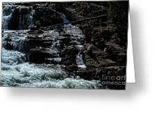 Glen Alpine Falls 8 Greeting Card