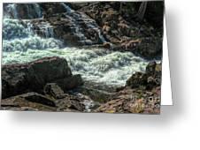 Glen Alpine Falls 9 Greeting Card