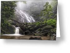 Glen Burney Falls Greeting Card