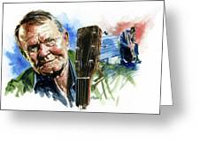 Glen Campbell Greeting Card