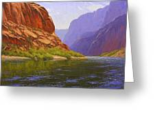 Glen Canyon Morning Greeting Card