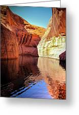 Glen Canyon Reflections Greeting Card
