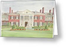 Glen Cove Mansion Greeting Card