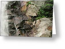 Glen Falls Abstract Greeting Card