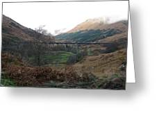 Glen Finnian Viaduct Greeting Card