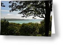 Glen Lake Overlook Greeting Card