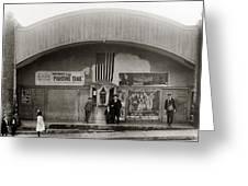 Glen Lyon Pa. Family Theatre Early 1900s Greeting Card