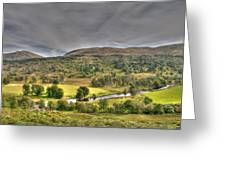 Glen Lyon Scotland Greeting Card