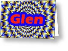 Glen Greeting Card