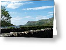 Glencar Lake With View Of Benbulben Ireland Greeting Card