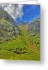 Glencoe Scotland Greeting Card