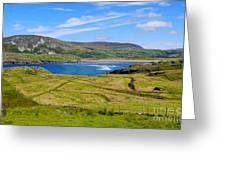 Glencolmcille County Donegal Greeting Card