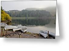 Glencorse Reflection. Greeting Card