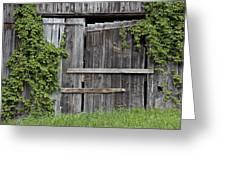 Glengarry Barn Doors Greeting Card