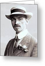 Glenn Curtiss - Aviation Pioneer And Father Of Aircraft Industry - 1909 Greeting Card