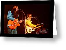 Glenn Frey Joe Walsh-0980 Greeting Card