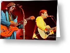 Glenn Frey Joe Walsh-1001 Greeting Card